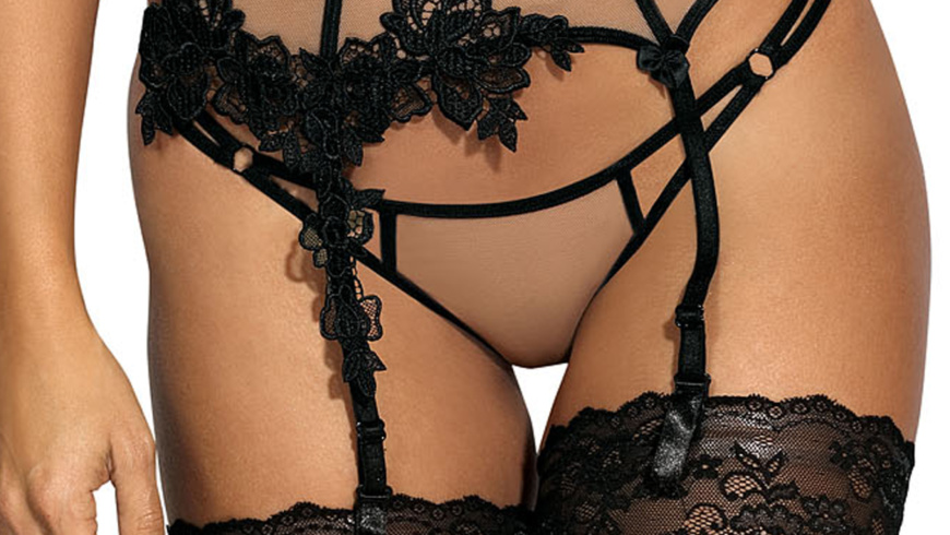 Pas do pończoch/Garter belt V-8842