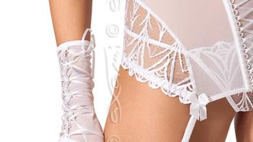 Rękawiczki/Gloves V-5165 White Lily