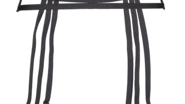 Pas do pończoch/Garter belt V-6542 Grafite