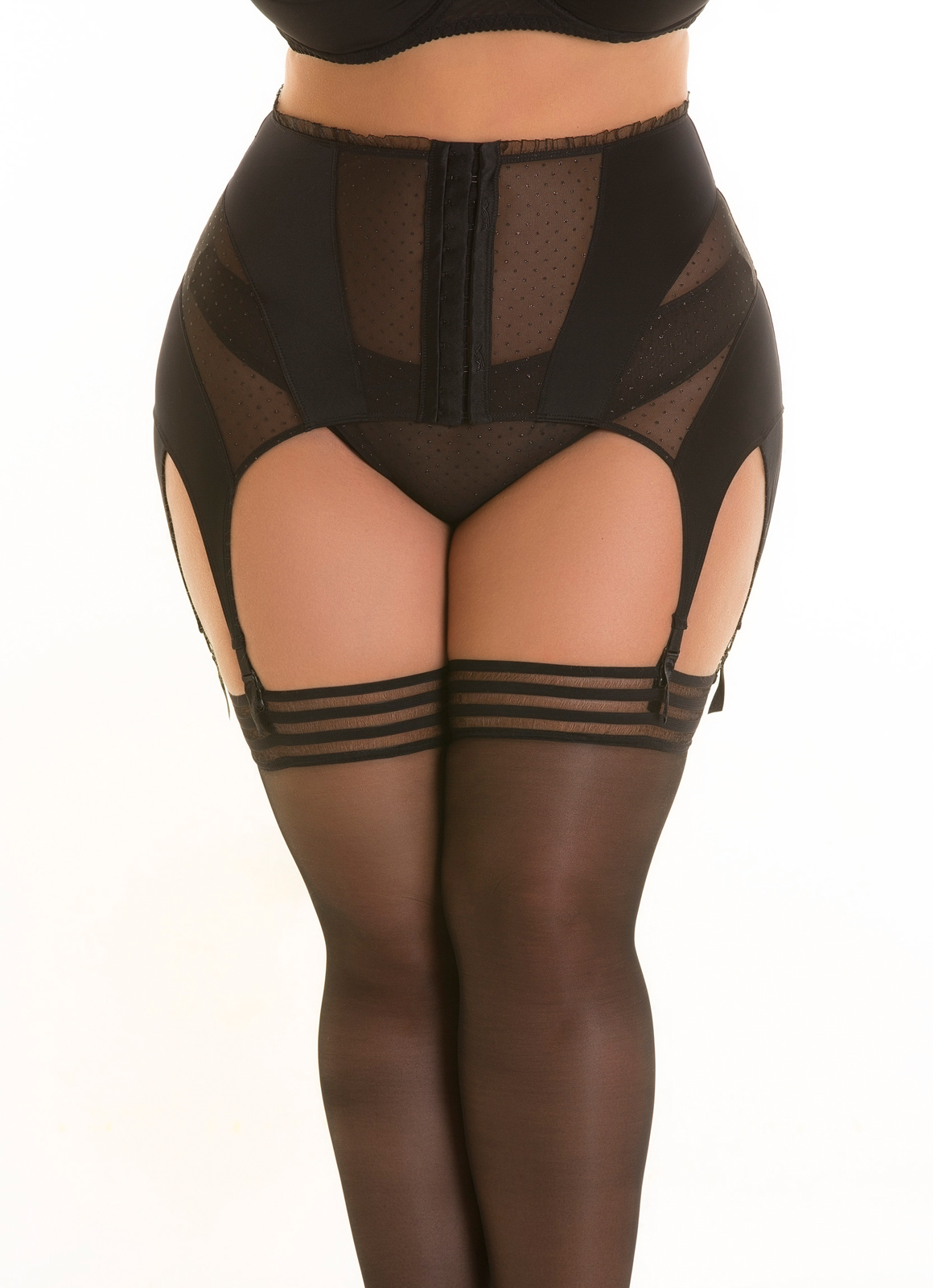 Pas do pończoch/Garter belt V-8822PS PLUS SIZE