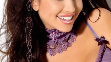 Opaska na oczy/Mask V-5034 Lilac