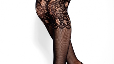 Zakolanówki/Overknee Stockings V-1714 Blackjack